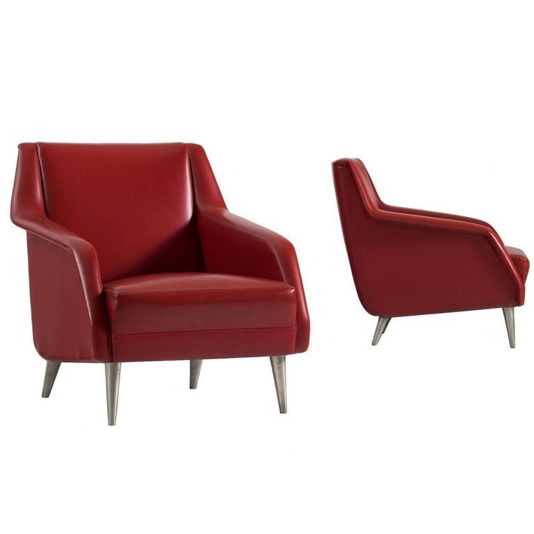 Carlo de Carli Set of Lounge Chairs