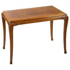 Léon Jallot French Art Nouveau Table