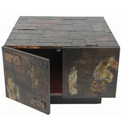 Paul Evans Custom Cabinet or Coffee Table