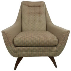 Adrian Pearsall Style Midcentury Tufted Lounge Chair