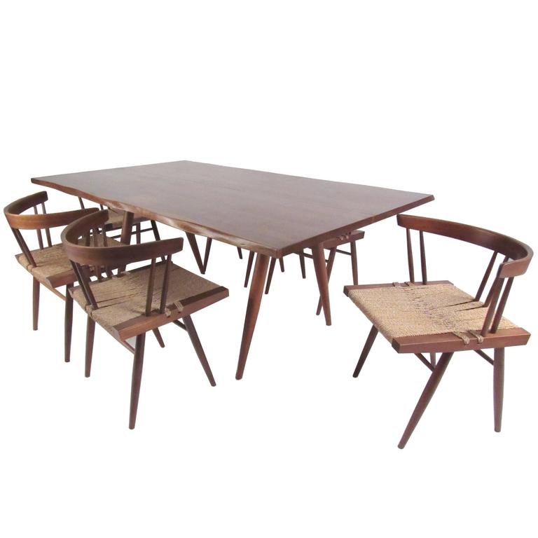 Dining Set by Nakashima For Sale