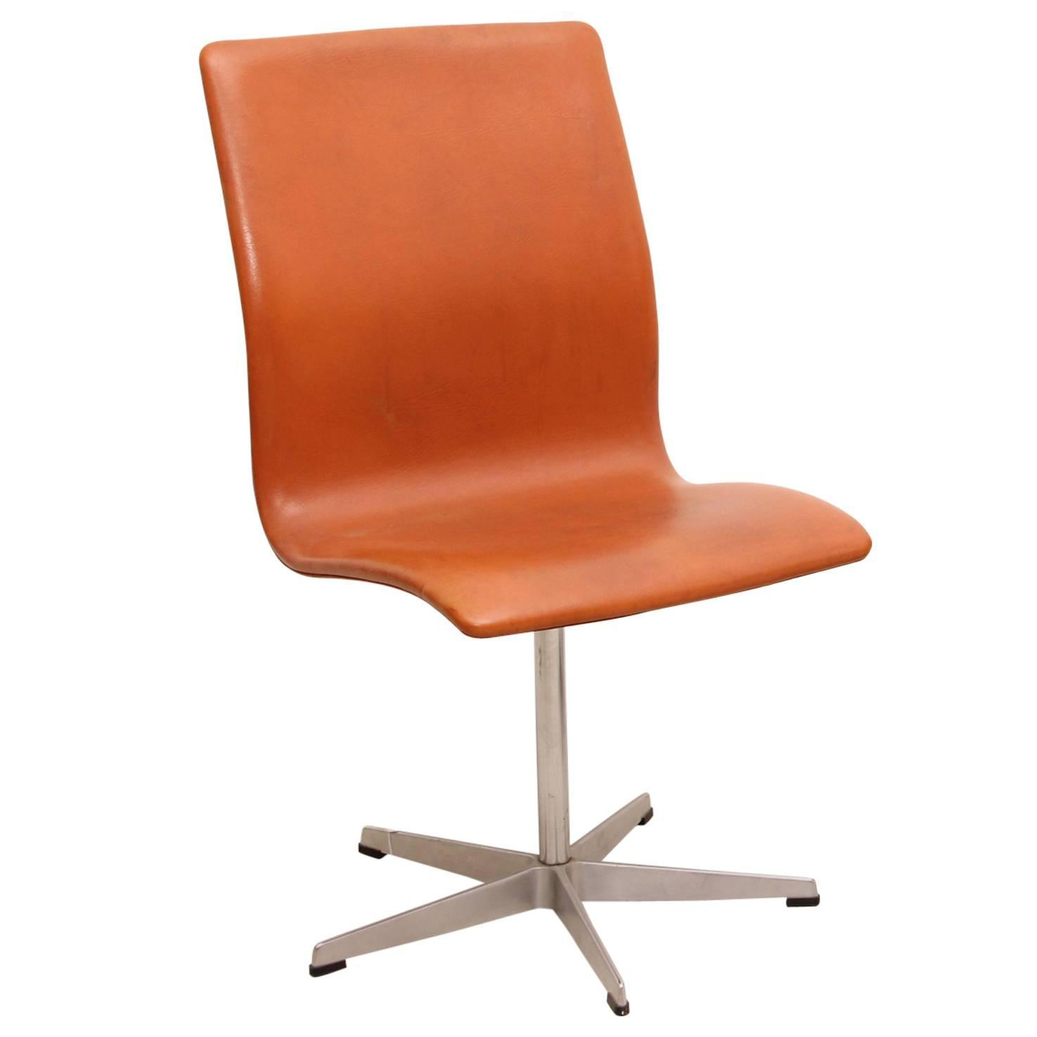 Oxford Chair by Arne Jacobsen Produced by Fritz Hansen 1963 at