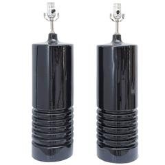 Pair of Vintage Ceramic Table Lamps