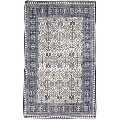 Vintage Indian Cotton Agra Rug