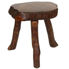 Natural Edge Side Table