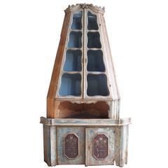 18th Century Venetian Corner Cabinet