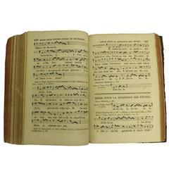 19c Antique Roman Song Book