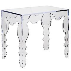 Tara Shaw Maison Rococo Console Table in Acrylic