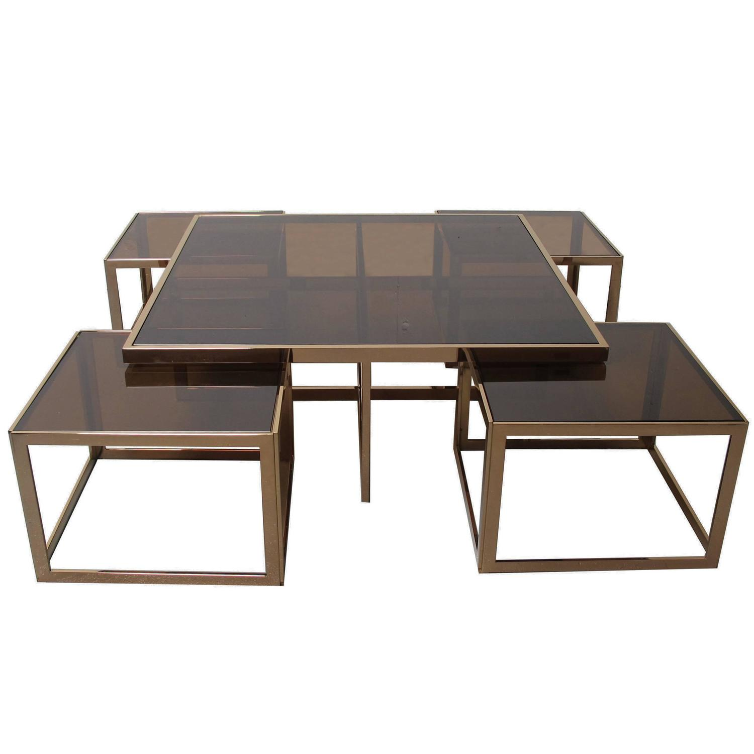Modular Coffee Table at 1stdibs
