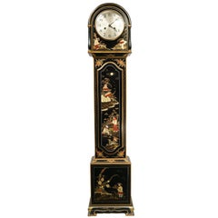 Exceptional Chinoiserie Grandmother Clock
