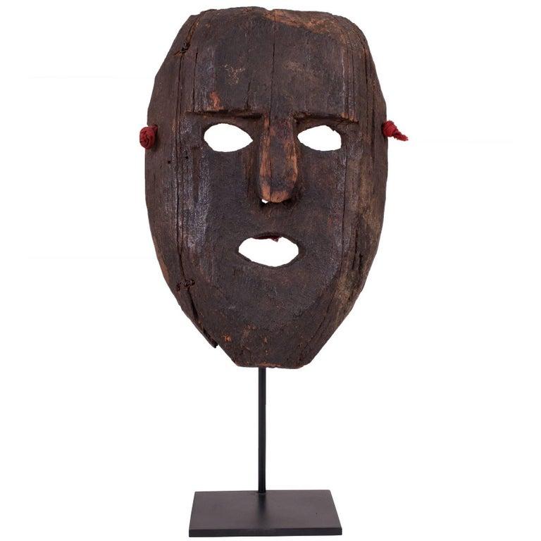 Himalayan Tribal Mask from Nepal