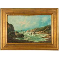 Western Coastal Landscape Painting