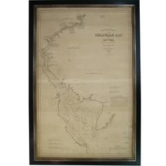 1889 Sea Chart Map of Delaware Bay by George Eldridge, Chart No. 11