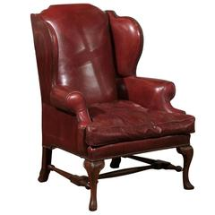 Late 19th Century English Wingback Chair