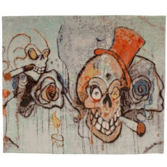 Clowns Graffiti from Unknown Artist, Carpet Collection by Jan Kath