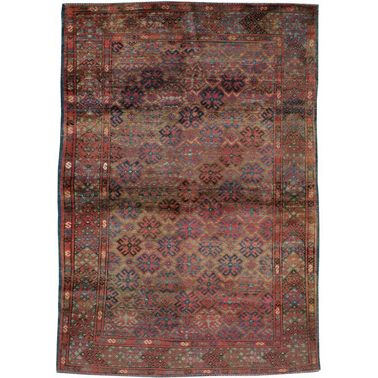 Antique Afghan Rugs: Vintage Afghan Baluch Rug For Sale At 1stdibs