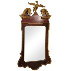 Late 19th Century Chippendale Style Mirror