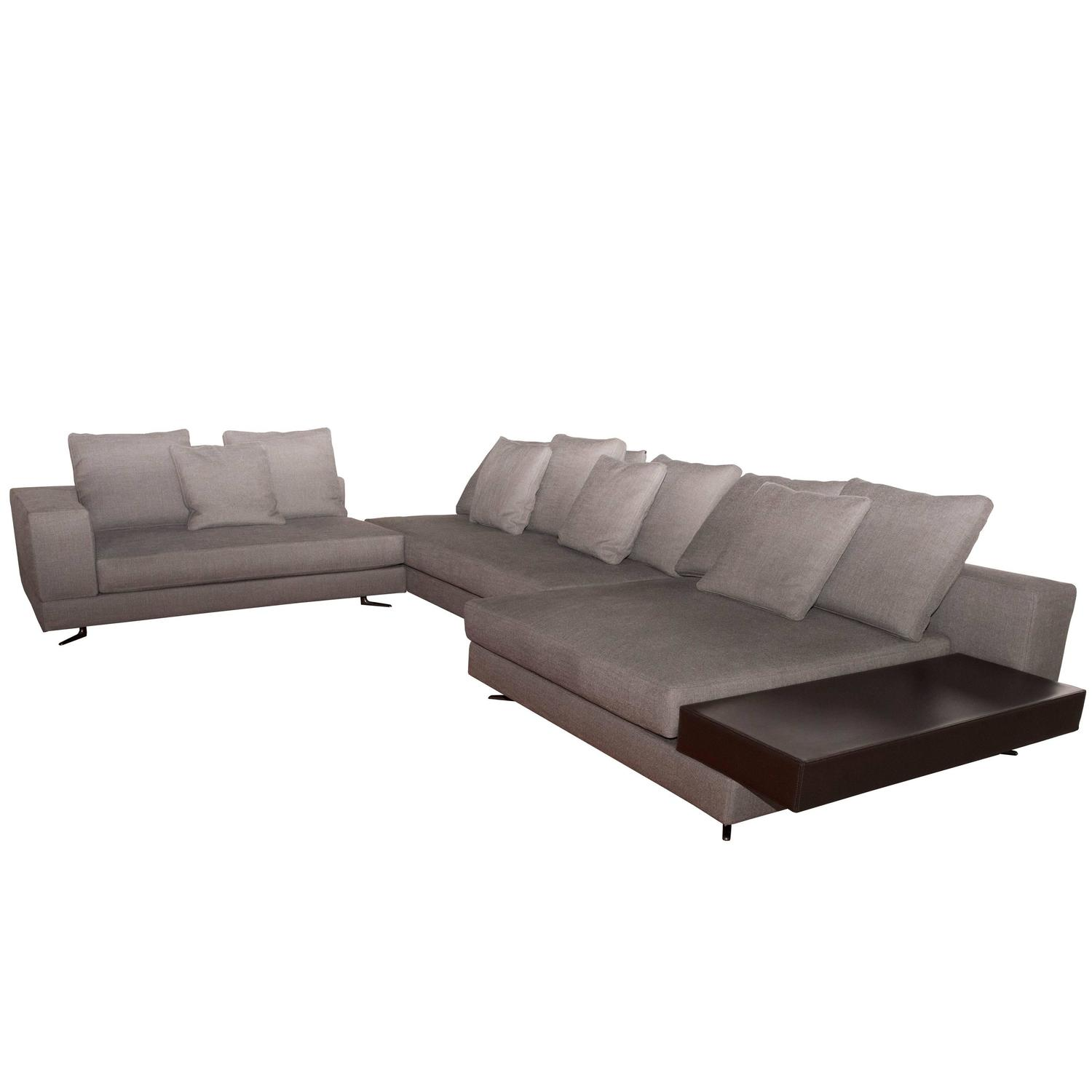 Minotti White Sectional Sofa At 1stdibs