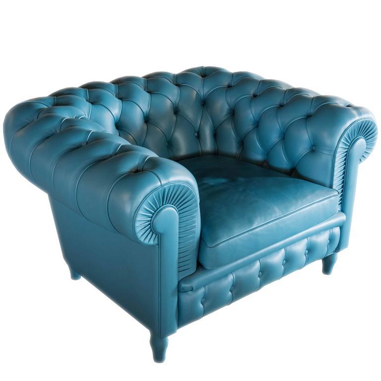 Poltrona frau chester armchair at 1stdibs for Chester poltrona frau
