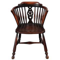 Wheel-Back Child's Windsor Armchair