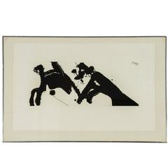 Dance I Etching by Robert Motherwell, 1978