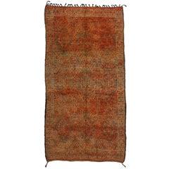 Vintage Beni M'Guild Moroccan Rug with Rustic Tribal Artisan Style, Berber Rug