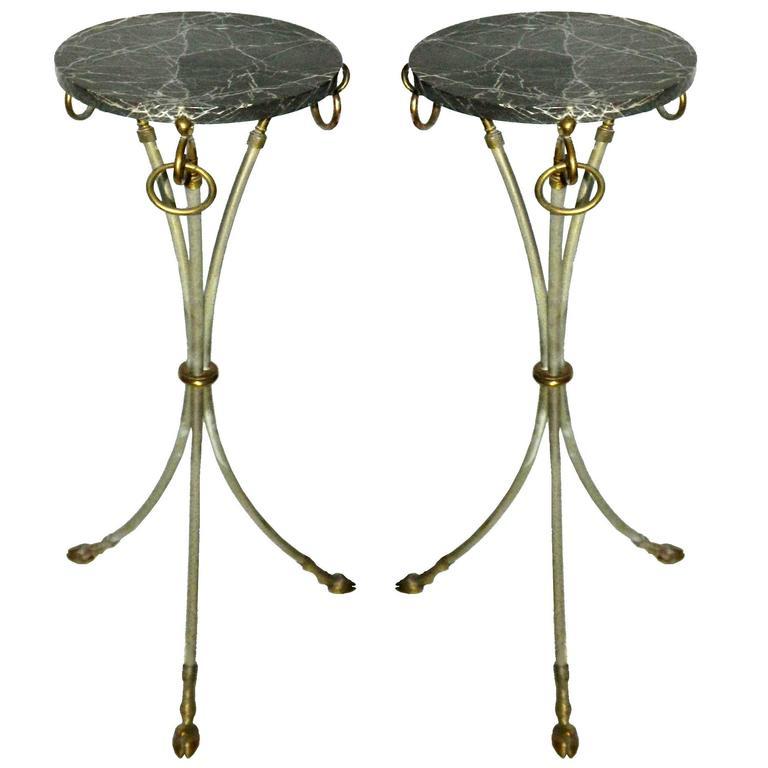 Pair of Maison Jansen Pedestal For Sale