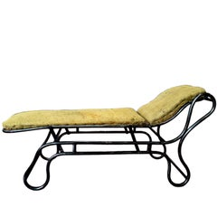 Adjustable Chaise Longue, France, circa 1900