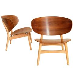 """Pair of Shell Chairs, Model """"FH 1936"""""""