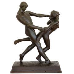 Adam and Eve by Anders Jensen Bundgaard