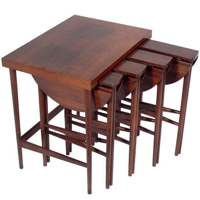 Bertha Schaefer Nesting Tables  For Sale
