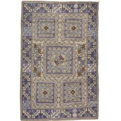 Vintage Turkish Karabagh Rug