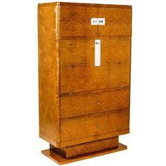 Beautiful French Moderne Secretaire Abattant