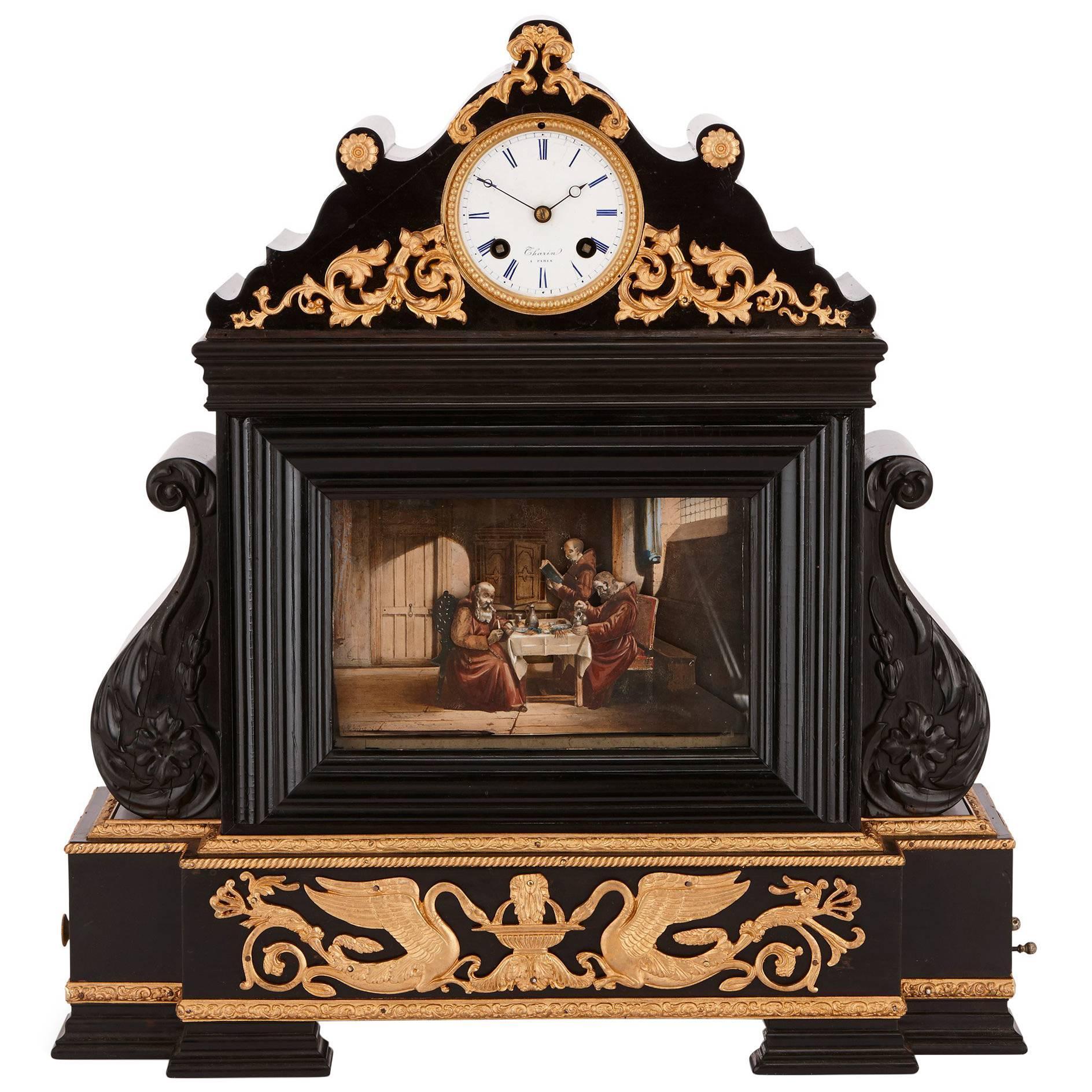 19th Century French musical automaton clock