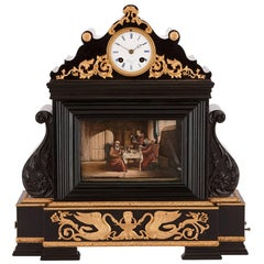 19th Century French musical automaton clock