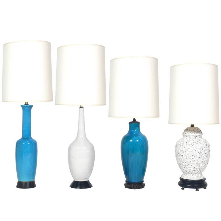 Selection of Asian Ceramic Lamps