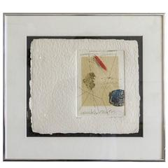 James Coignard 'Composition' Etching