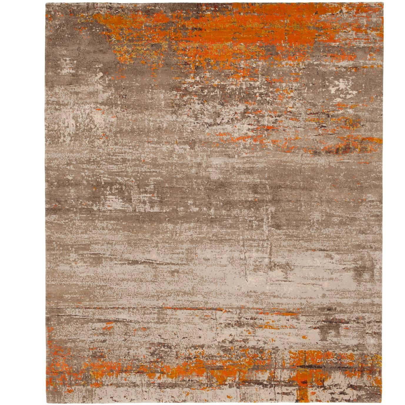 artwork 19 orange accents from artwork carpet collection by jan kath at 1stdibs. Black Bedroom Furniture Sets. Home Design Ideas