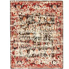 Bidjar Waterloo Peace from Erased Heritage Carpet Collection by Jan Kath