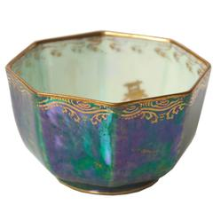 "Miniature Wedgwood Fairyland Lustre Bowl ""Celestial Dragons"" Daisy Makeig-Jones"