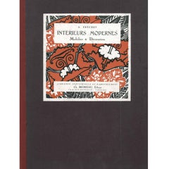 Interieurs Modernes Mobilier and Decoration Folio of Designs