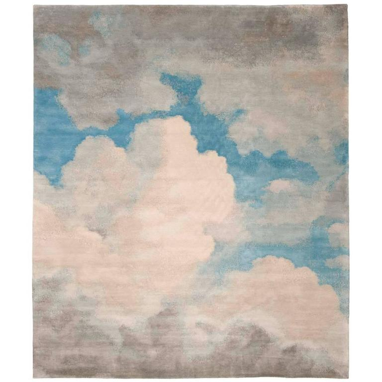 Cloud 1 from Heiter Bis Wolkig Carpet Collection by Jan Kath For Sale