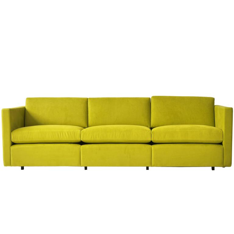 Charles Pfister Three Seat Sofa For Knoll For Sale At 1stdibs