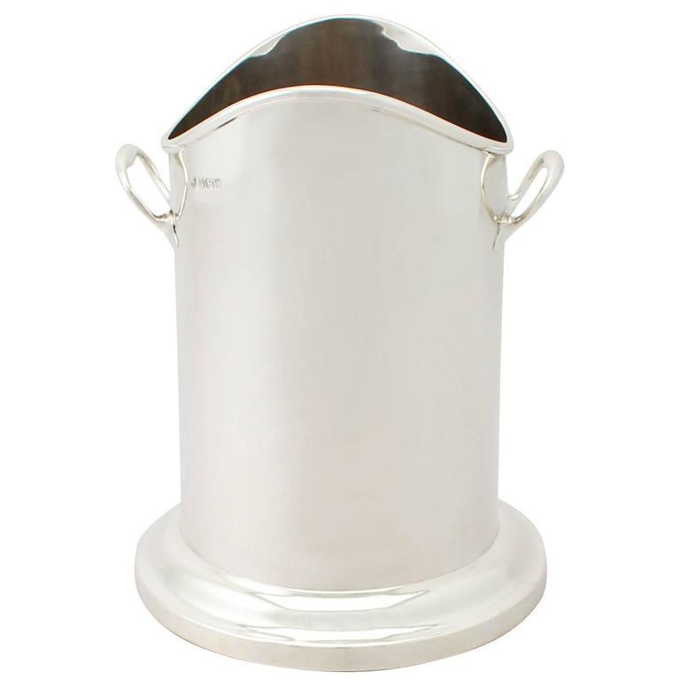 Sterling Silver Bottle Holder/Coaster - Antique George V
