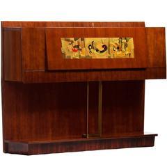 Midcentury Vittorio Dassi Dry Bar Cabinet
