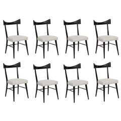 Paul McCobb Planner Group 8 Dining Chairs