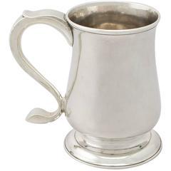 Newcastle Sterling Silver Pint Mug by John Langlands I & John Robertson I