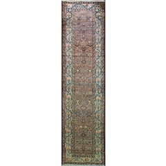 Antique Persian Malayer Runner, Free Shipping