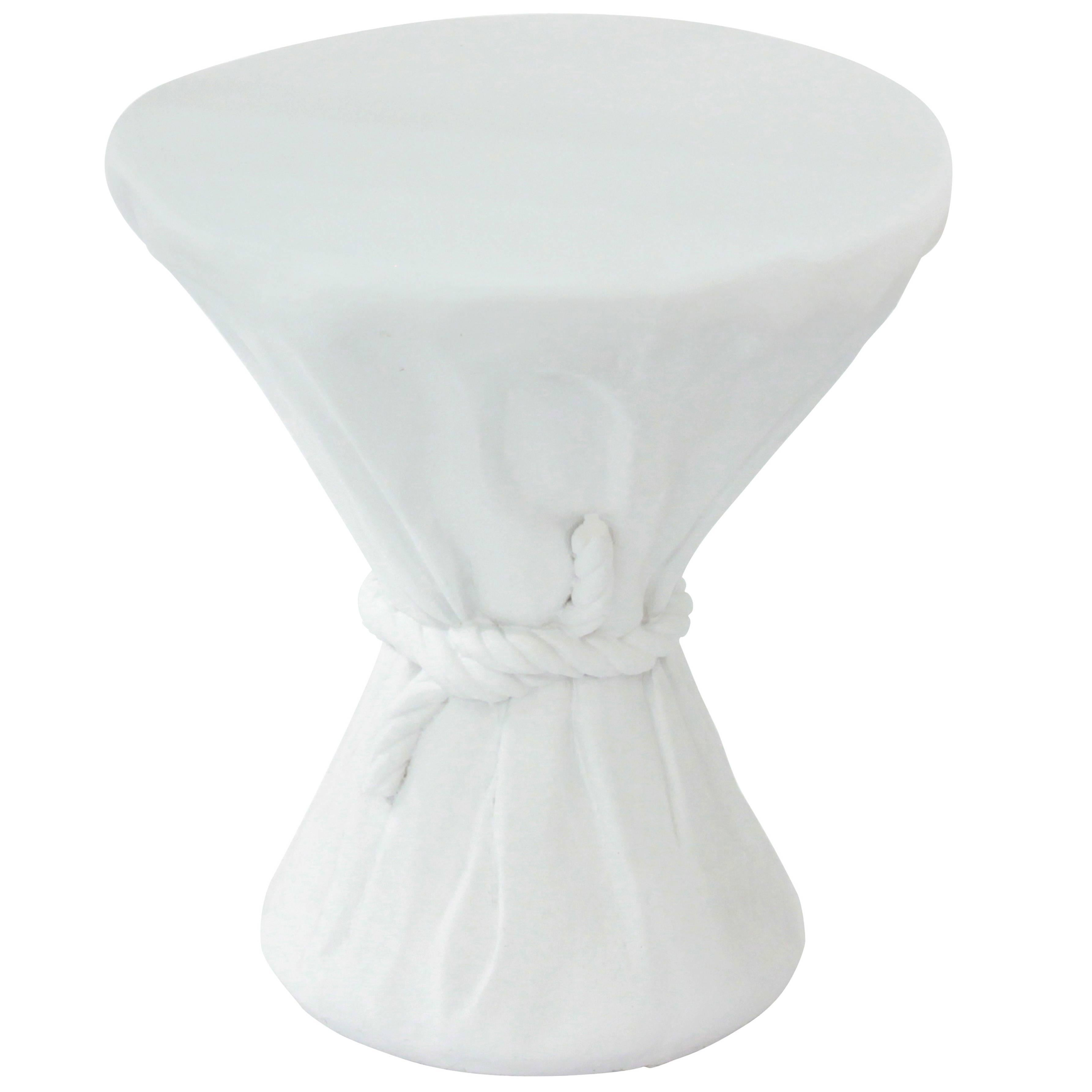 """""""Rope Table"""" in Plaster by John Dickinson"""