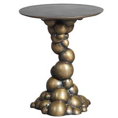 Erin Sullivan, Blackened Bronze Bubble Side Table, USA, 2015